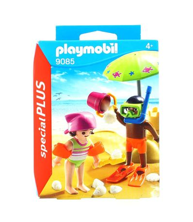 Playmobil-Special-Plus-Niños-en-la-Playa