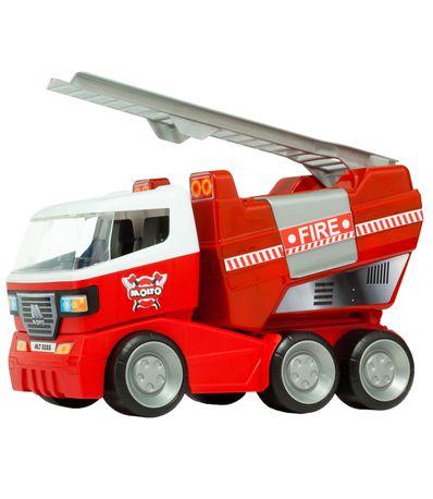 Camion-de-Bomberos-con-Escalera