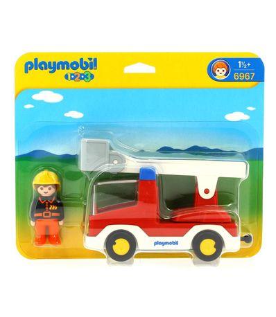 Playmobil-123-Camiao-dos-Bombeiros