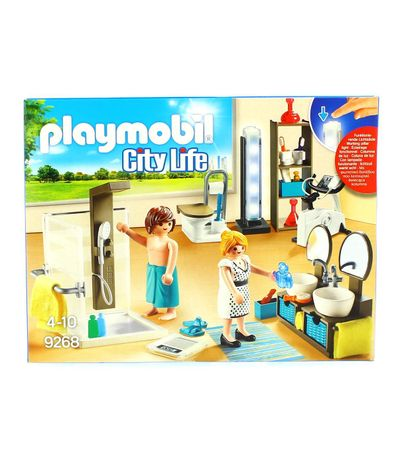 Playmobil-City-Life-Baño