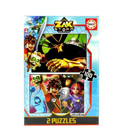 Zak-Storm-Puzzle-2x100-Piezas