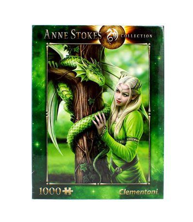 Puzzle-Anne-Stokes-Espiritus-Afines-1000-Piezas