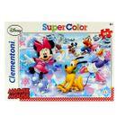 Minnie-Mouse-Puzzle-Patinaje-Sobre-Hielo-de-104-Piezas