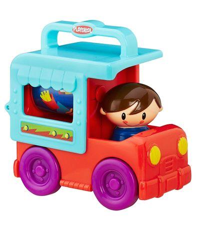 Playskool-Car-Diver-Child