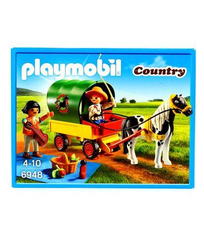 Playmobil-Country-Picnic-con-Poni-y-Caballo