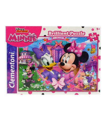 Minnie-Puzzle-Efecto-Diamante-de-104-Piezas
