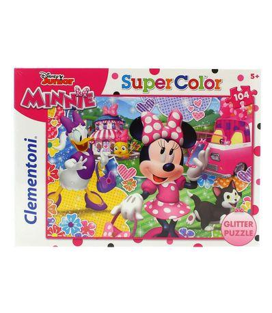 Minnie-Mouse-Puzzle-com-Purpurina-104-Pecas