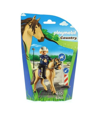 Playmobil-Country-Policia-Montada