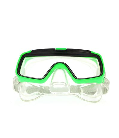 Oculos-de-Mergulho-Infantil-Verde