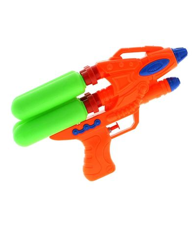 Pistola-de-Agua-4-Depositos-Naranja