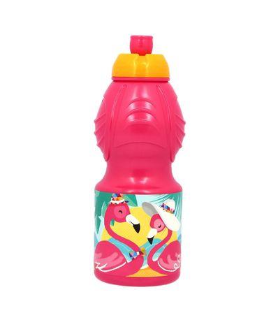Garrafa-Sport-Plastico-400-ml-Flamingo