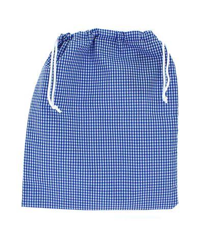 Saco-de-Roupa-Azul-Vichy