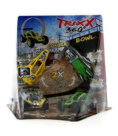 Trixx-360-Half-Pipe-Green
