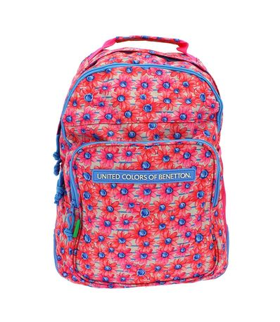 Benetton-Fiori-Mochila-Doble-Adaptable