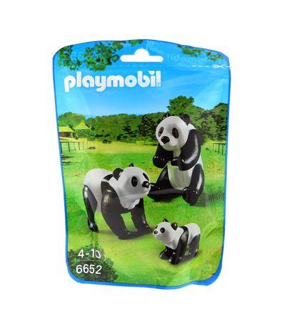 Playmobil-City-Life-Familia-de-Pandas