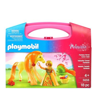 Playmobil-Princess-Maletin-de-Princesa-con-Caballo-Fantasia