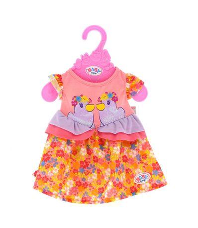 Patinhos-de-colecao-de-vestido-de-bebe-nascido