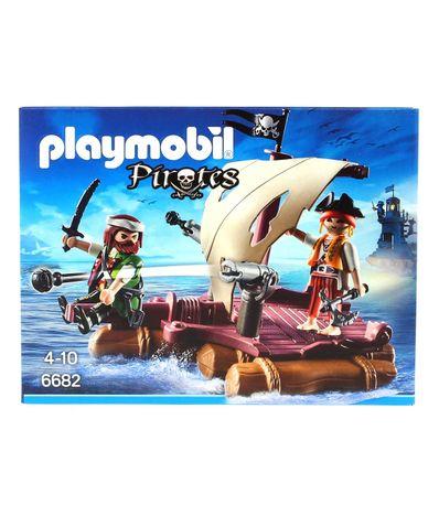 Playmobil-Balsa-Pirata