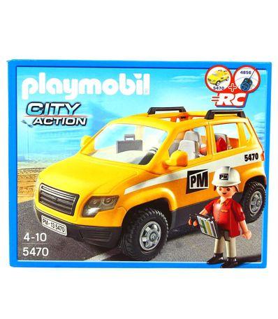 Playmobil-Coche-de-Supervision