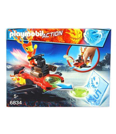 Playmobil-Sparky-com-Lancador