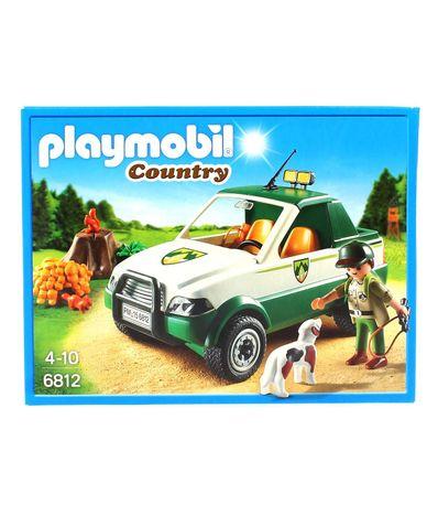Playmobil-Guarda-florestal-com-pick-up