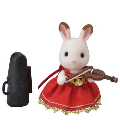 Familias-Sylvanian-ajustam-o-concerto-do-violino