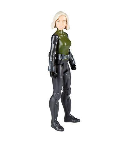 A-figura-do-heroi-dos-Vingadores-Titan-Black-Widow