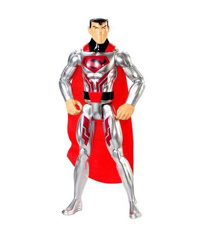 La-Liga-de-la-Justicia-Superman-Traje-Acero