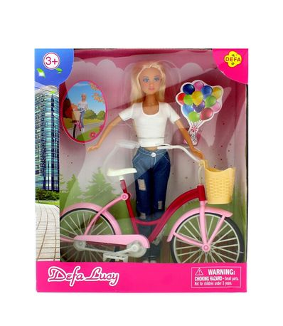 Muñeca-Fashion-Blanca-con-Bicicleta
