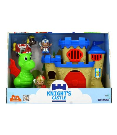 Castelo-de-cavaleiros-criancas-com-dragao