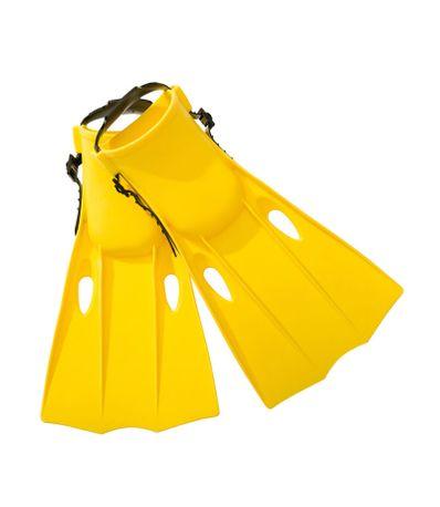 Amarelo-nadadeiras-de-mergulho-Tamanho-35-37