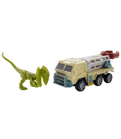 Jurassic-World-Matchbox-Camion-Dilofosaurios