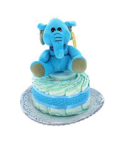 Tarta-de-Pañales-1-Piso-Elefante-azul