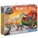 Jurassic-World-Set-Volcan---T-Rex-2-en-1