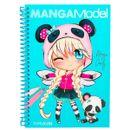 Manga-Model-Libro-para-Colorear