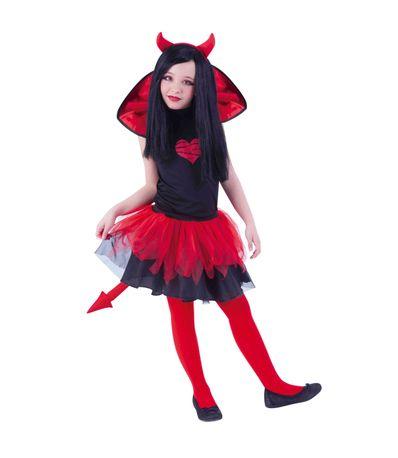Crianca-traje-Tutu-diablesa-Weens-Tamanho-8-10-anos
