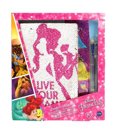 Princesas-Disney-Diario-Deluxe