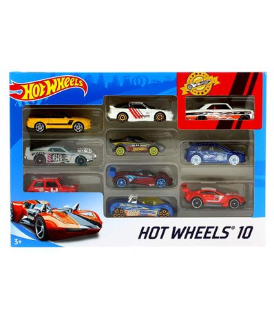 Hot-Wheels-Pack-10-Voitures-Miniatures