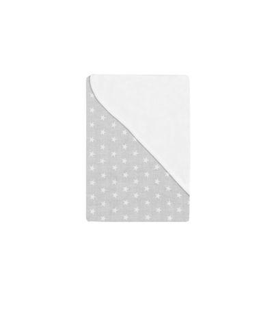 Couverture-bebe-gris-avec-des-etoiles