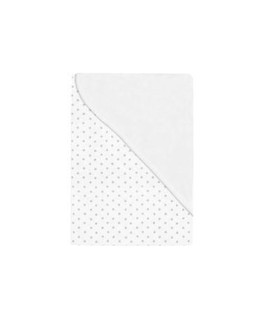 Couverture-bebe-blanche-etoiles-en-gris