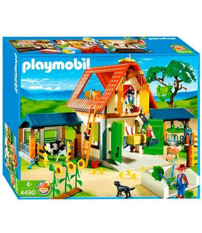Playmobil-Modern-Farm