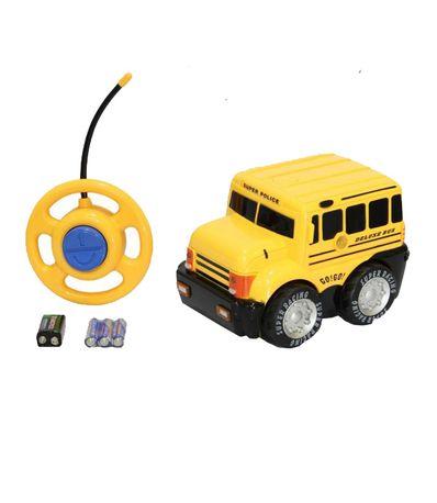 Voiture-RC-Bus-Scolaire-avec-Volant