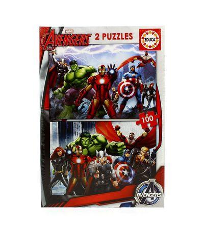 Les-Vengeurs-2-Puzzles-100-pieces
