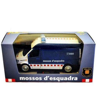 Fourgon-Miniature-Mossos-d-Esquadra