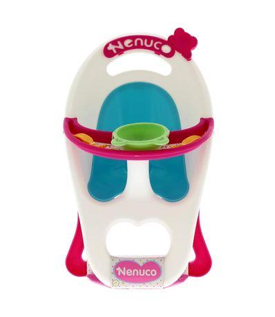 Nenuco-Chaise-haute-avec-Accessoires