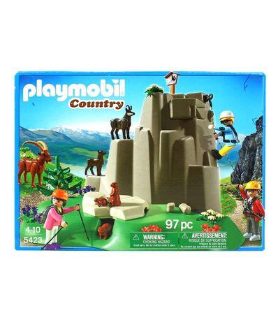 Playmobil-Grimpeurs-avec-des-animaux-de-montagne