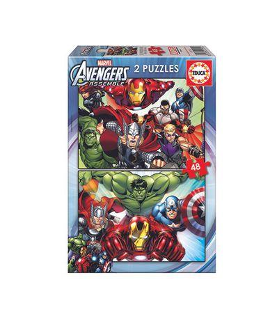 Avengers-Puzzle-2x48-Pieces