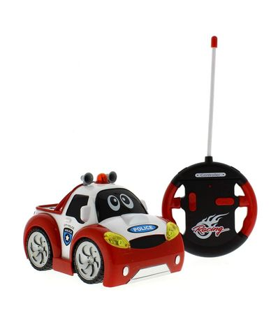 Voiture-Racer-Police-Volant-RC