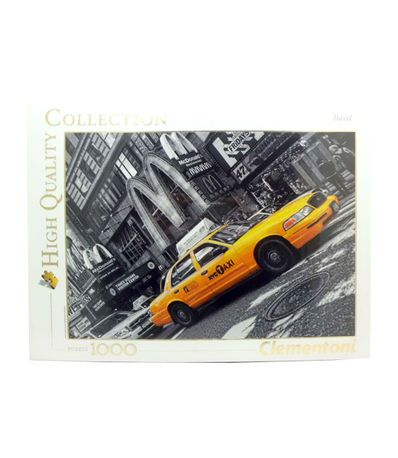 New-York-Taxi-1000-Pieces-Puzzle