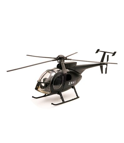 Helicoptere-miniature-NH-500-SWAT-Echelle-1-32